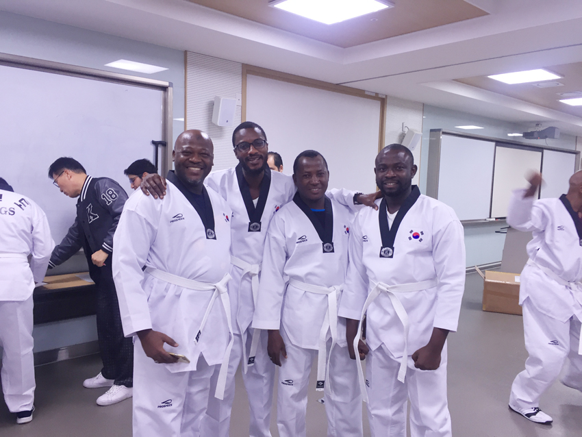 KINGS Start of Taekwondo Class in 2019 2019-08-27